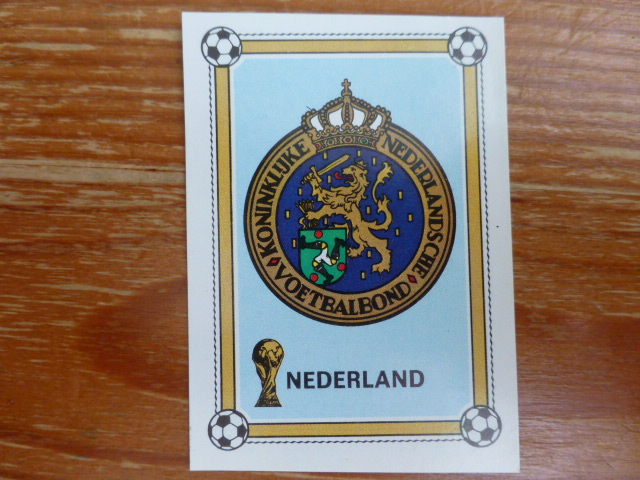 Panini Argentina 78 - Netherlands Badge