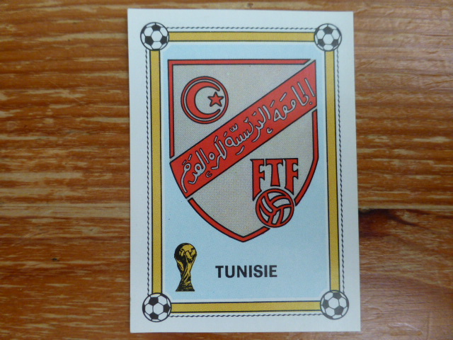 Panini Argentina 78 - Tunisia Badge