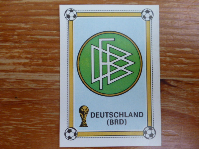 Panini Argentina 78 - West Germany Badge