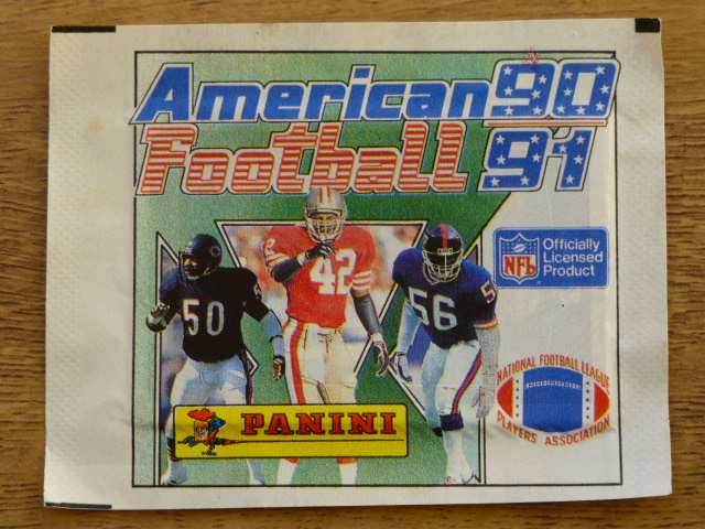 Panini American Football 91 Sticker Pack