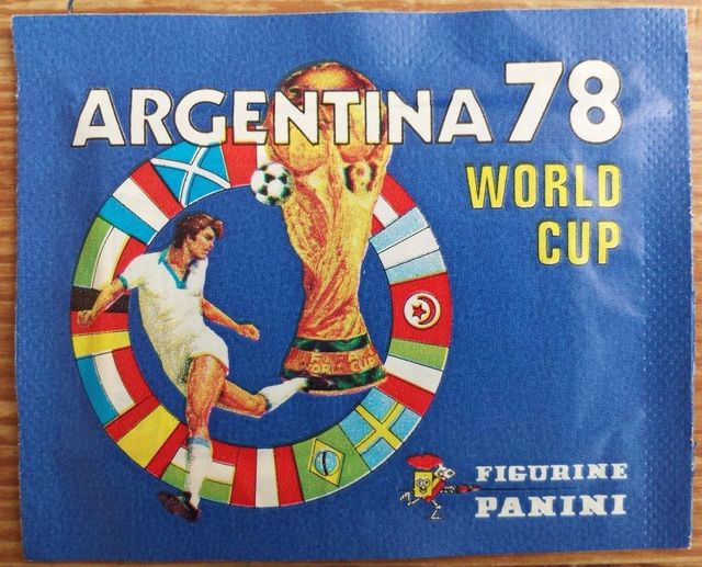 Panini Argentina 78 Sticker Pack