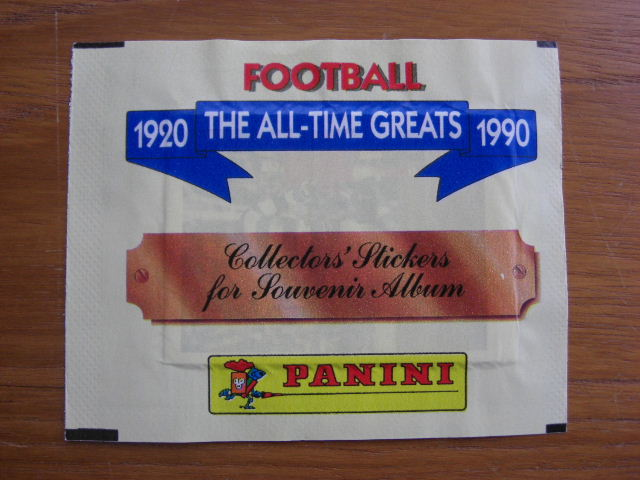 Panini All Time Greats Sticker Pack