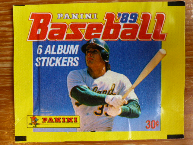 Panini Baseball 89 Sticker Pack