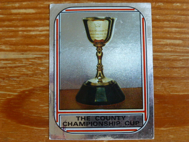 Panini World Of Cricket 83 - The County Championship