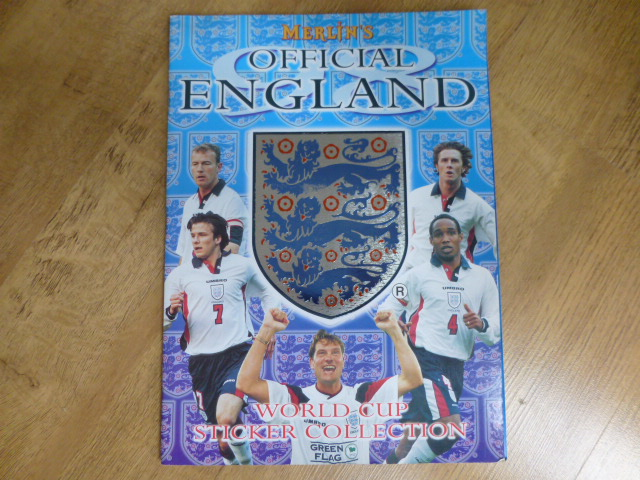 Merlin England World Cup 98 Incomplete Album