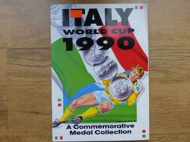 Italia 1990 Medal Collection Incomplete Album