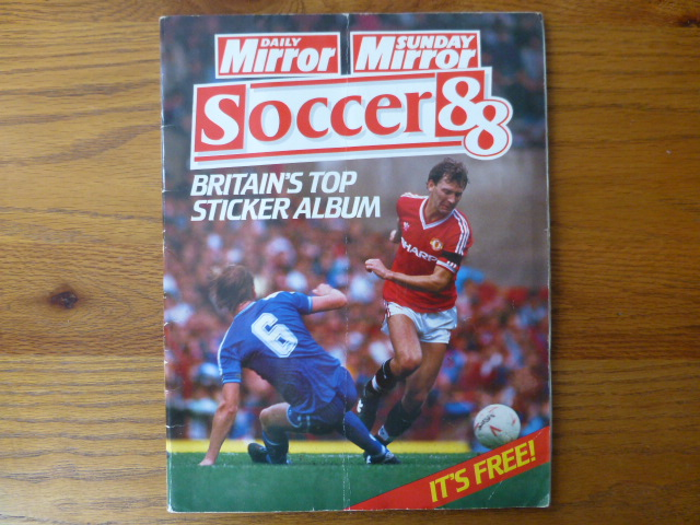 Daily Mirror Soccer 88 Incomplete Album