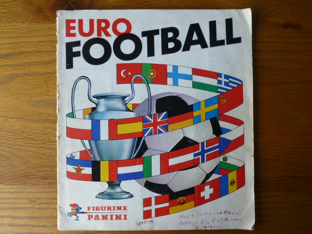 Panini Euro Football 76/77 Complete Album (01)