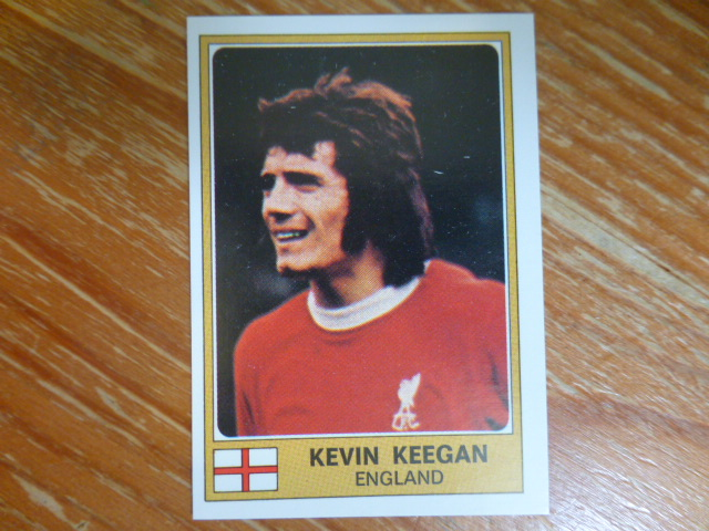 Panini Euro Football 76/77 Sticker- Kevin Keegan