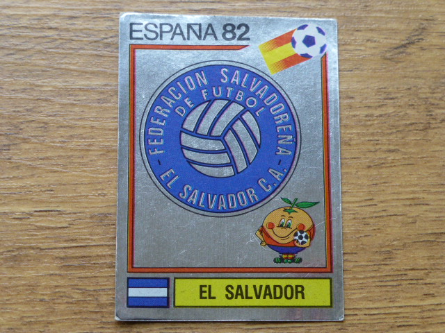 Panini Espana 82 Badge - El Salvador