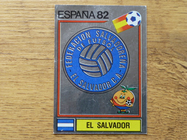 Panini Espana 82 Badge - El Salvador (1)