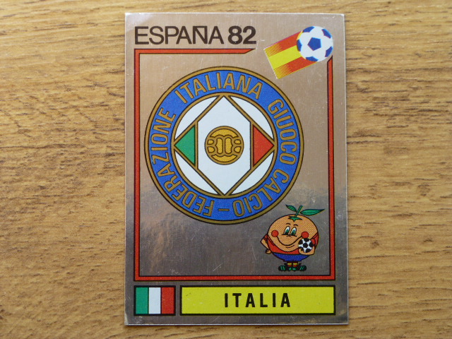 Panini Espana 82 Badge - Italy