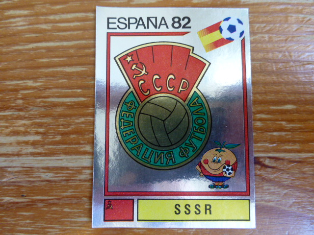 Panini Espana 82 Badge - SSSR