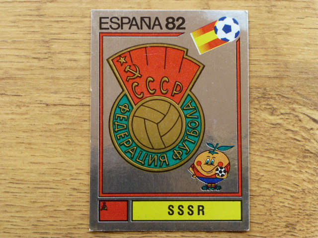 Panini Espana 82 Badge - SSSR (1)