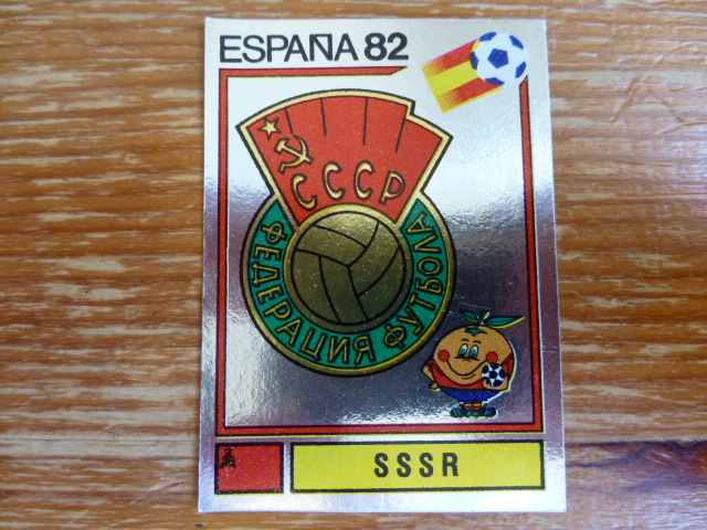 Panini Espana 82 Badge - SSSR (2)