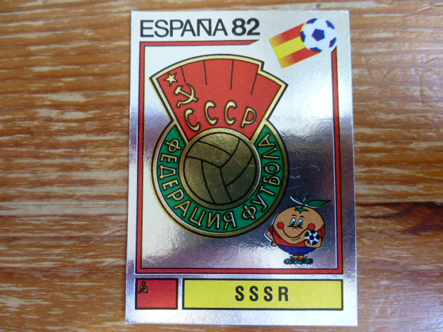 Panini Espana 82 Badge - SSSR (3)