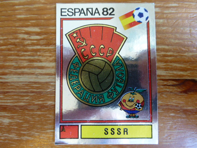 Panini Espana 82 Badge - SSSR (4)