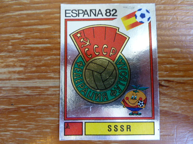 Panini Espana 82 Badge - SSSR (5)