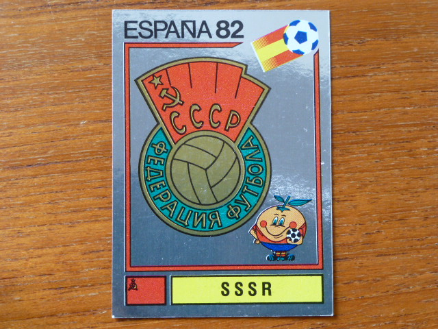 Panini Espana 82 Badge - SSSR (6)