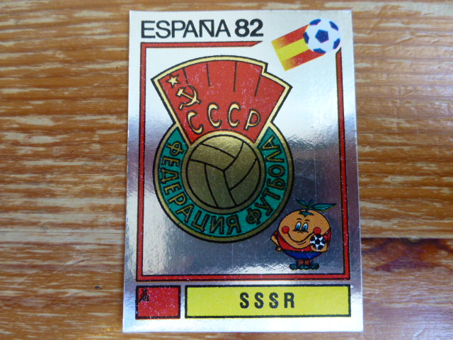 Panini Espana 82 Badge - SSSR (7)