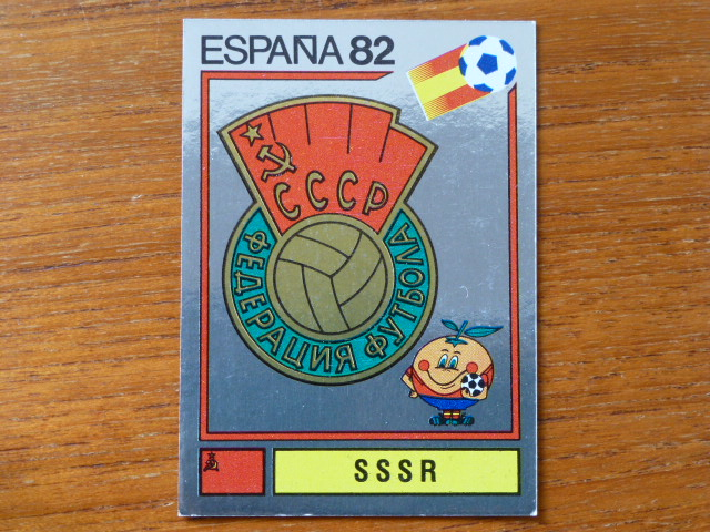 Panini Espana 82 Badge - SSSR (8)