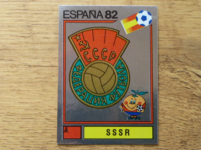 Panini Espana 82 Badge - SSSR (9)