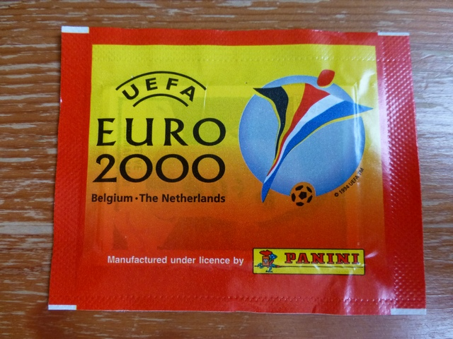 Panini Euro 2000 Sticker Pack