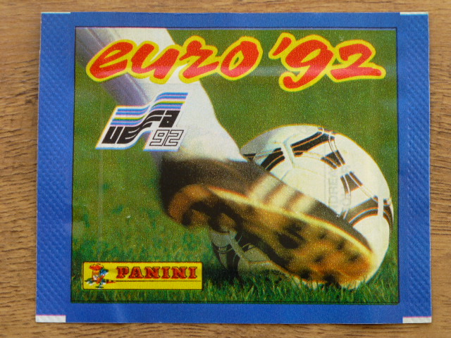 Panini Euro 92 Sticker Pack