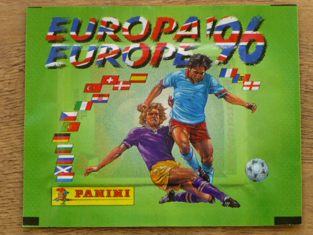 Panini Euro 96 Sticker Pack