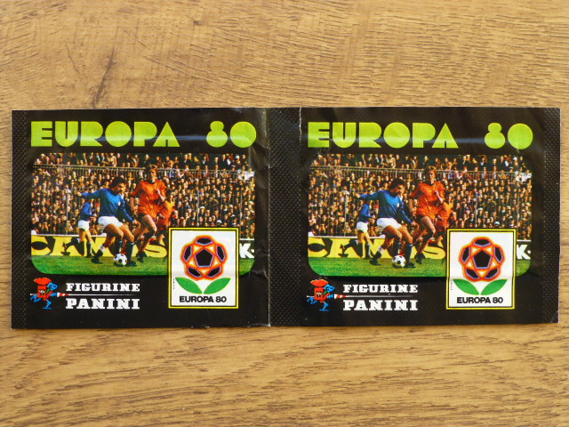 Panini Europa 80 Double Sticker Pack
