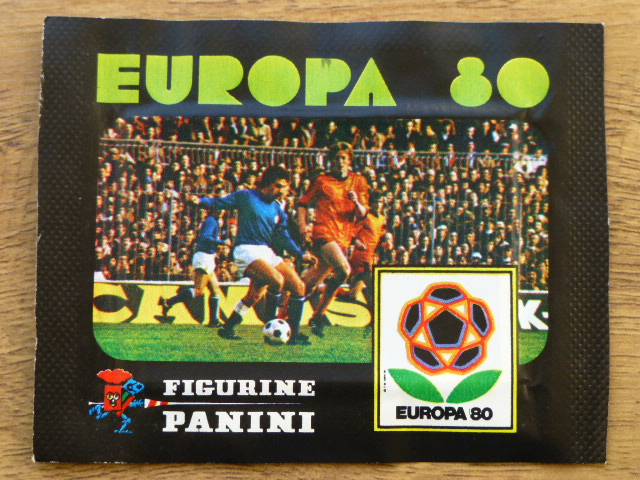 Panini Europa 80 Sticker Pack