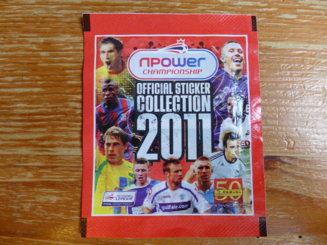 Panini Championship 2011 Sticker Pack