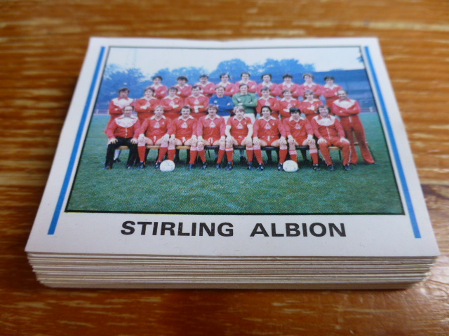 Panini Football 81 Clearance Stickers