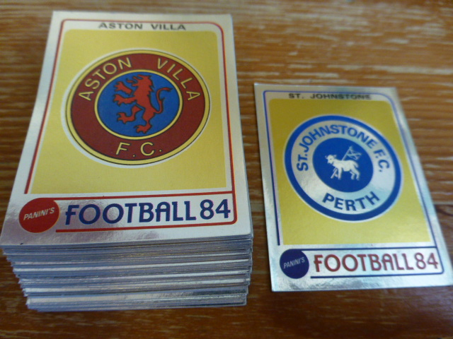 Panini Football 84 Individual Badges