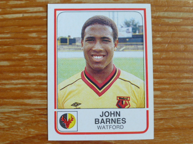 Panini Football 84 Sticker - John Barnes