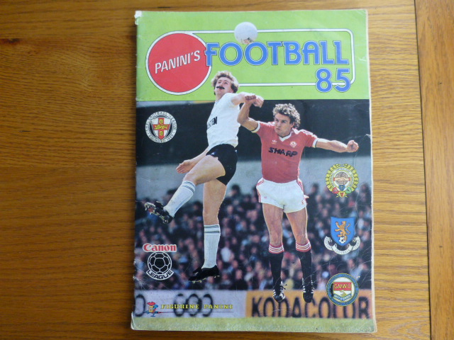 Panini Football 85 Complete Album (01)