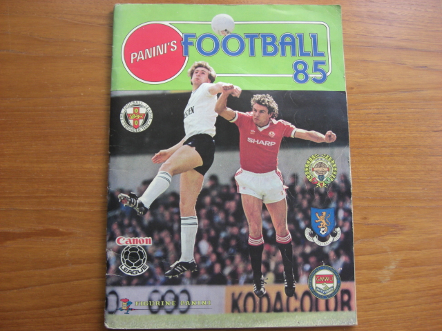 Panini Football 85 Complete Album (04)