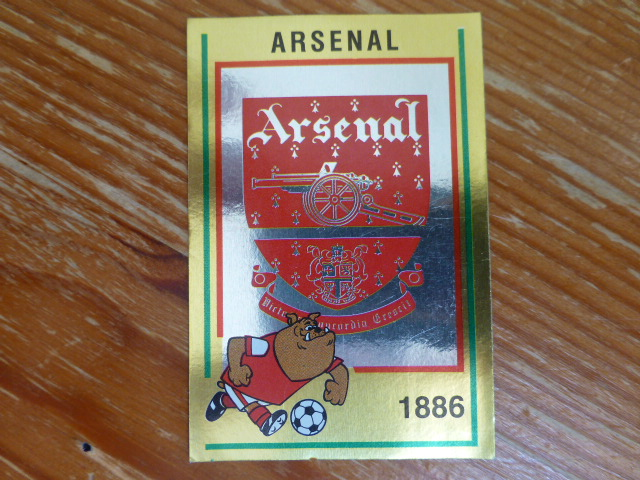 Panini Football 85 Badge - Arsenal