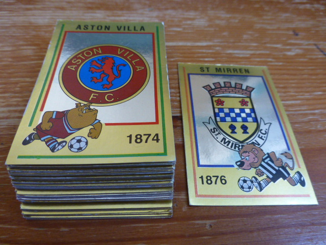 Panini Football 85 Badges