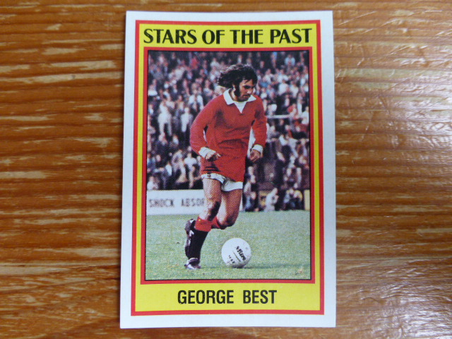 Panini Football 85 Sticker - George Best