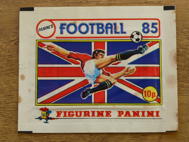Panini Football 85 Sticker Pack