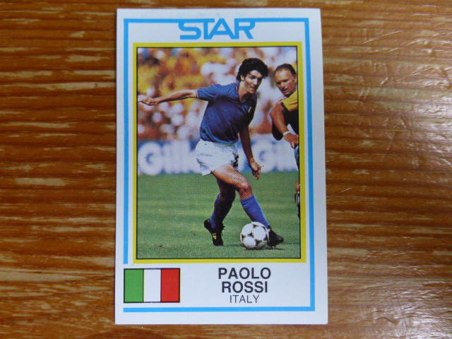 Panini Football 85 Sticker - Paolo Rossi