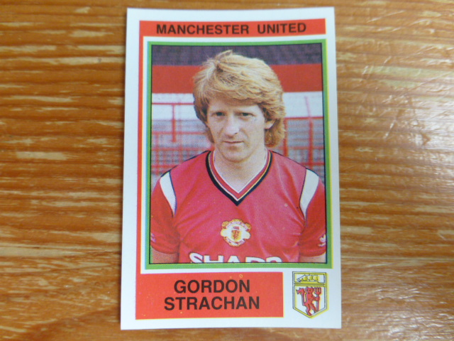 Panini Football 85 Sticker - Gordon Strachan