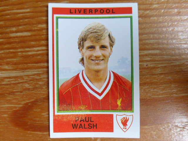 Panini Football 85 Sticker - Paul Walsh