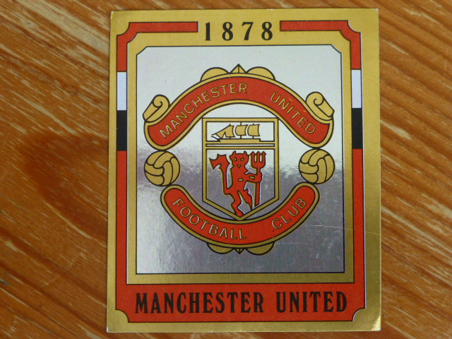 Panini Football 88 Badge - Manchester United