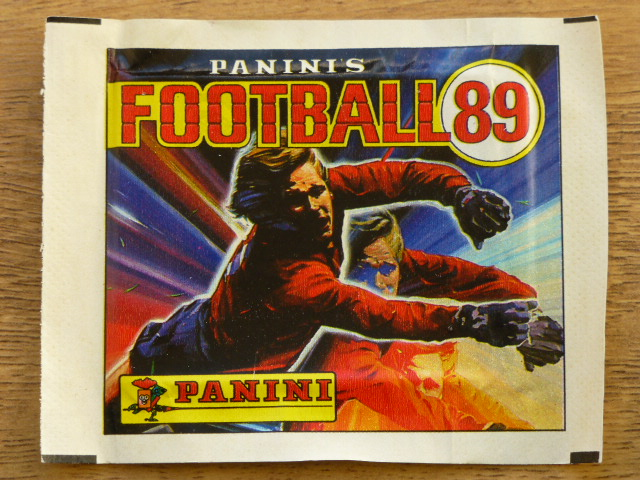 Panini Football 89 Sticker Pack