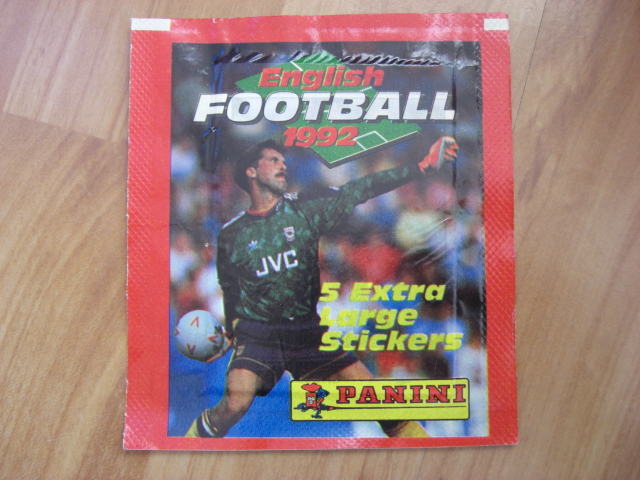 Panini Football 92 Sticker Pack