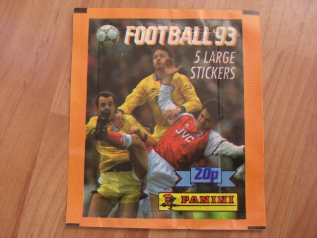 Panini Football 93 Sticker Pack