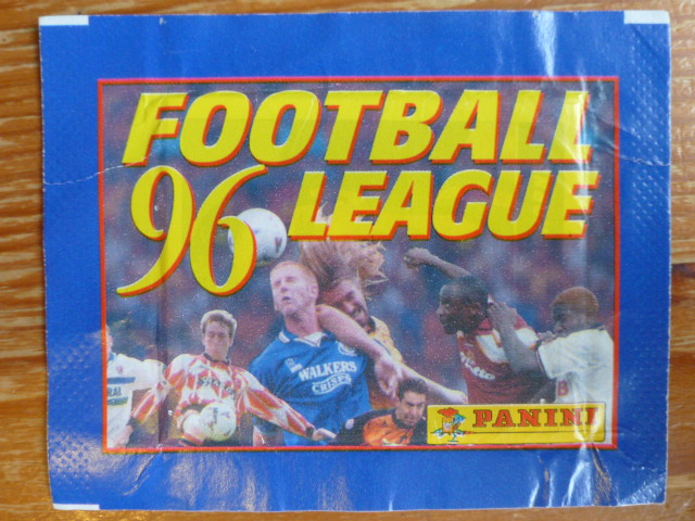 Panini Football League 96 Sticker Pack