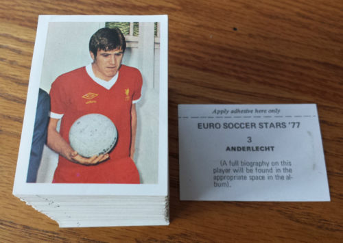 FKS Euro Soccer Stars 77 Stickers